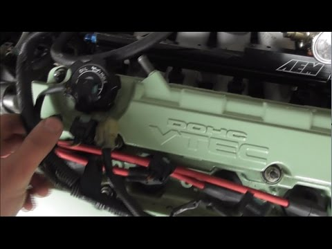 T2CG Honda Civic EF Part 39 : Engine Install with new cable gearbox Part 2
