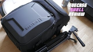 Cinematography backpack: Evecase Shell DSLR Camera Review