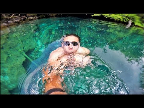 Thumbnail: SWIMMING IN THE CLEAREST BLUE LAGOON!!!