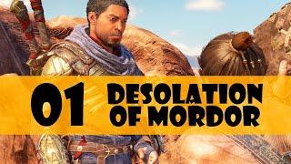 Desolation of Mordor Gameplay Walkthrough Part 1 (Middle Earth Shadow of War DLC)
