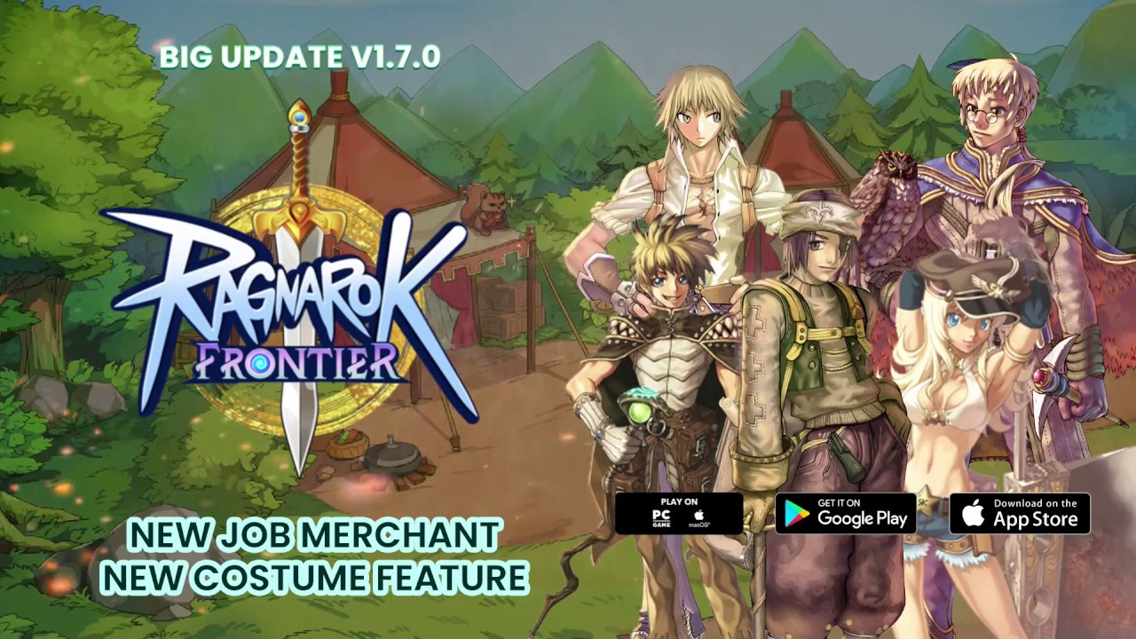 Ragnarok Frontier New Job Merchant & New Costume