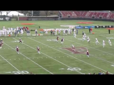 Sacred Heart vs Fordham - Playoff Football - 2nd Quarter - Nebrich pass to Tebucky Jones - 11-30-13