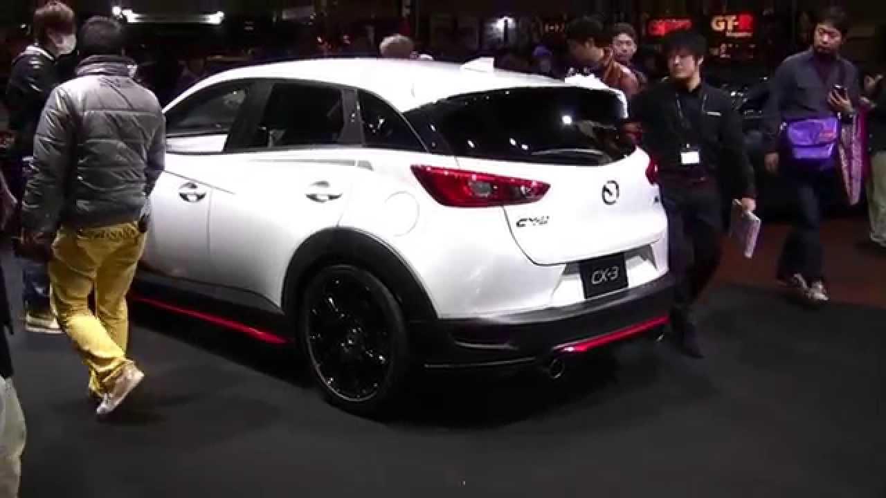 Mazda Cx 3 Racing Concept Mazdas247 Com Youtube