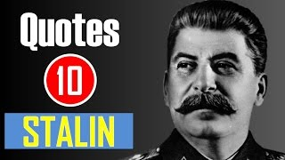 Gambar cover 【10 Quotes】Joseph Stalin - Death is the solution to all problems.
