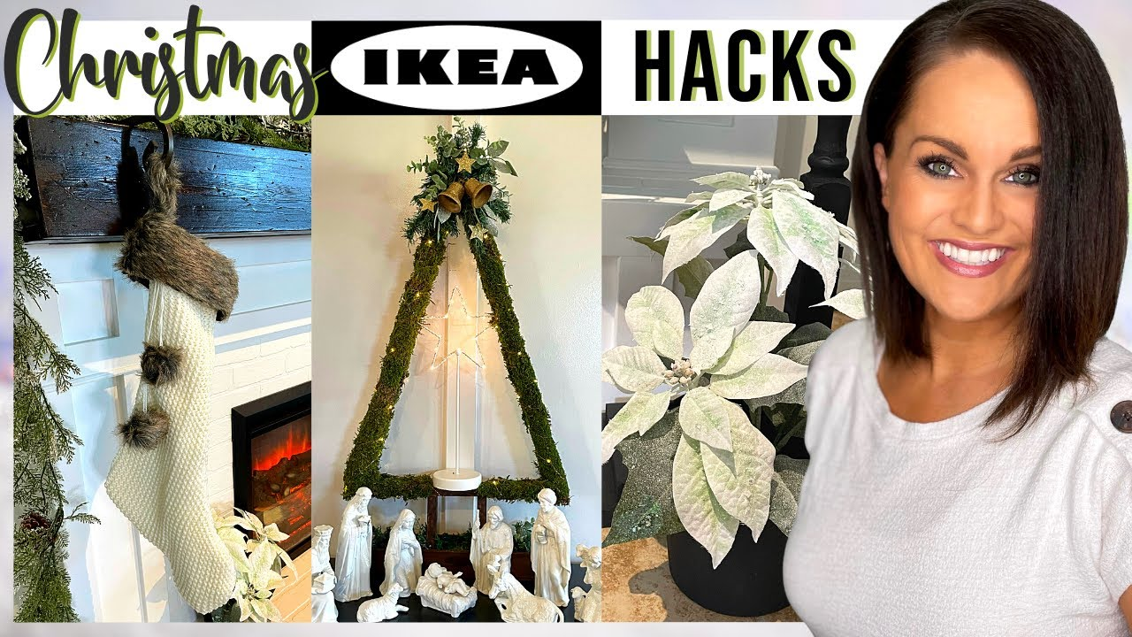 ⭐️DIY IKEA HACKS for Christmas | Affordable & Easy Decor Ideas!