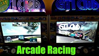 Arcade Racing Game 2 Player Kids Fun! ゲームセンター