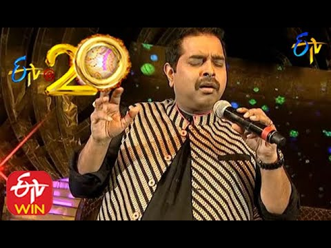 Shankar Mahadevan Performs Sri Vigneshwara Stuthi in ETV @ 20 Years Celebrations - 2nd August 2015