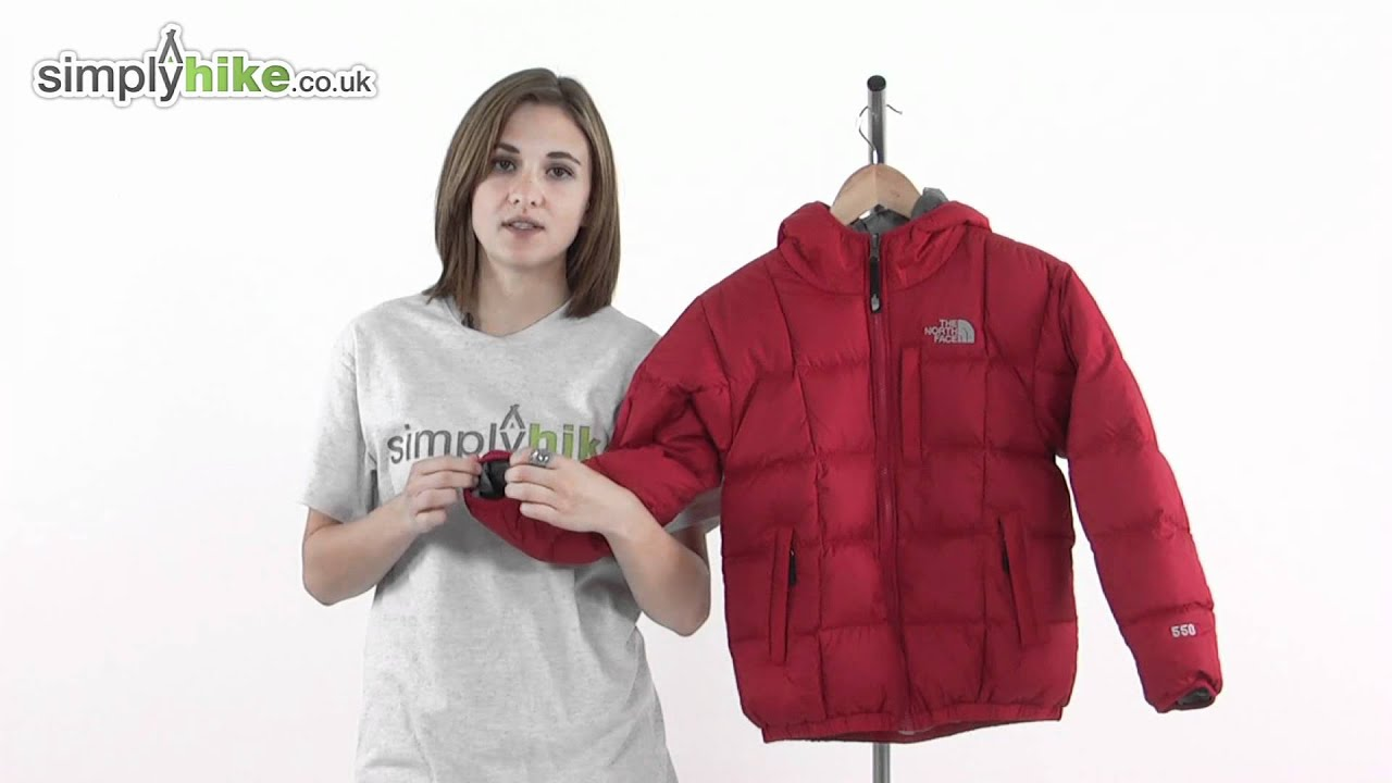 01305c0a9 The North Face Boys Reversible Down Moondoggy Jacket - www.simplyhike.co.uk
