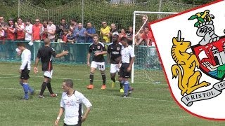 Highlights: Portishead Town 1-6 Bristol City