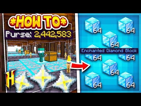 Hypixel Skyblock : HOW TO MAKE 2,000,000+ COINS A DAY! l Minecraft Skyblock  (63)