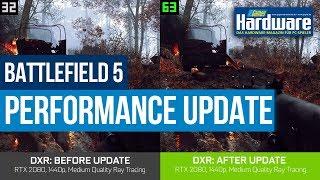 Battlefield 5 Raytracing | Overture-Update | Geforce RTX 2080 Ti