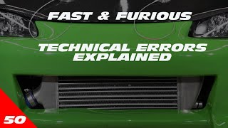 TECHNICAL ERRORS FROM FAST & FURIOUS EXPLAINED