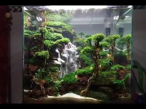 Curug Siranda Waterfall Aquascape Youtube