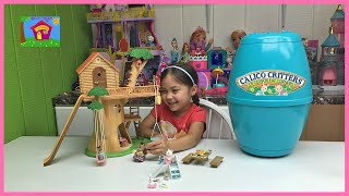 Cute Calico Critters Adventure Tree House Gift Set w/ Surprise Egg! Calico Critters Toys