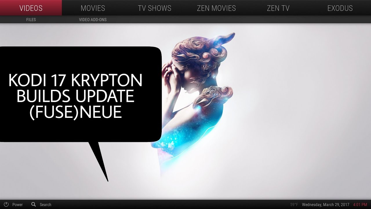 Best Kodi Skin 2020 The best Kodi 17 Krypton builds update 2017 for the (Fuse)neue