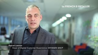 Digital Experiences at Voyages-sncf.com featuring ContentSquare