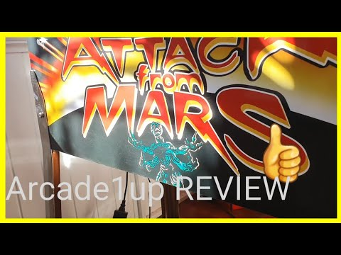 Attack from Mars Arcade1up REVIEW from SimonAU1up