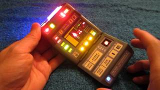 Star Trek The Next Generation/Voyager Mark X Medical Tricorder FEDERATION SURPLUS HERO PROP