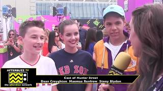 Kids Choice Sports Awards interview with the cast of Hunter Street