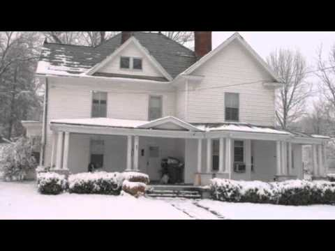 Historic Downtown Homes in Winter 2011, Greeneville, Tennessee