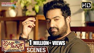 Jr NTR Ultimate Warning to Sachin Khedekar | Janatha Garage Telugu Movie Scenes | Mohanlal