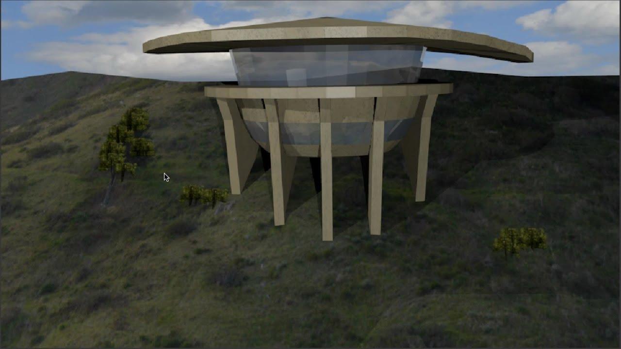 Blender Tutorial 15 Tony Starks House Part 9 Final Youtube