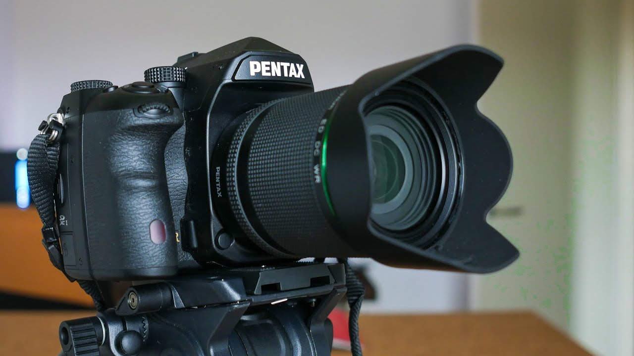 Pentax K-1 Full Frame DSLR detailed Review - YouTube