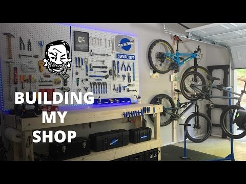 DIY Bike Workshop - Seth's Bike Shack!