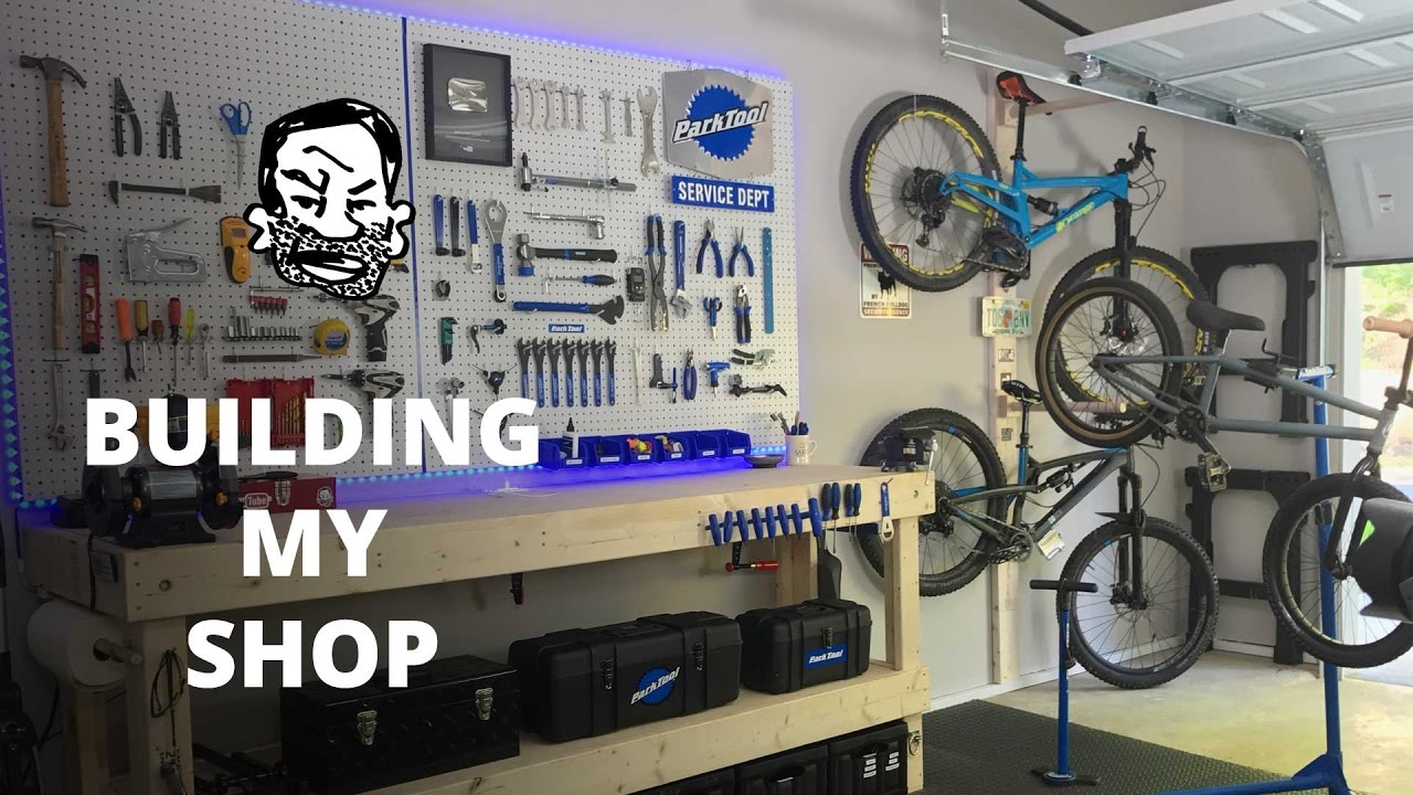 Miller Welding >> DIY Bike Workshop | Seth's Bike Shack! - YouTube