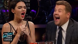 Spill Your Guts or Fill Your Guts w/ Kendall Jenner(James and Kendall Jenner take turns asking each other very personal questions, like ranking the names of North, Saint and Dream, her nieces and nephew, ..., 2016-11-17T07:10:49.000Z)