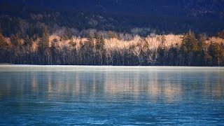【北海道の絶景】オンネトーブルー完全結氷!!美しく見られるのは5年ぶり