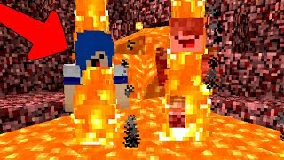 AVENTURA NA LAVA DO MINECRAFT