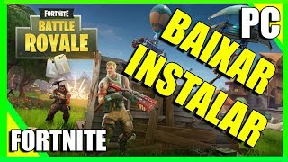 How to download and install FORTNITE for PC-Updated