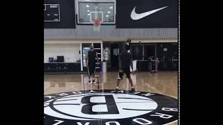 dangelo Russell 2:00 a.m workout in Brooklyn nets facility