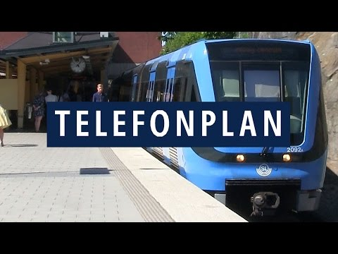 Telefonplan Stockholms Tunnelbana