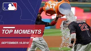 Top 10 Moments around MLB: September 19, 2018