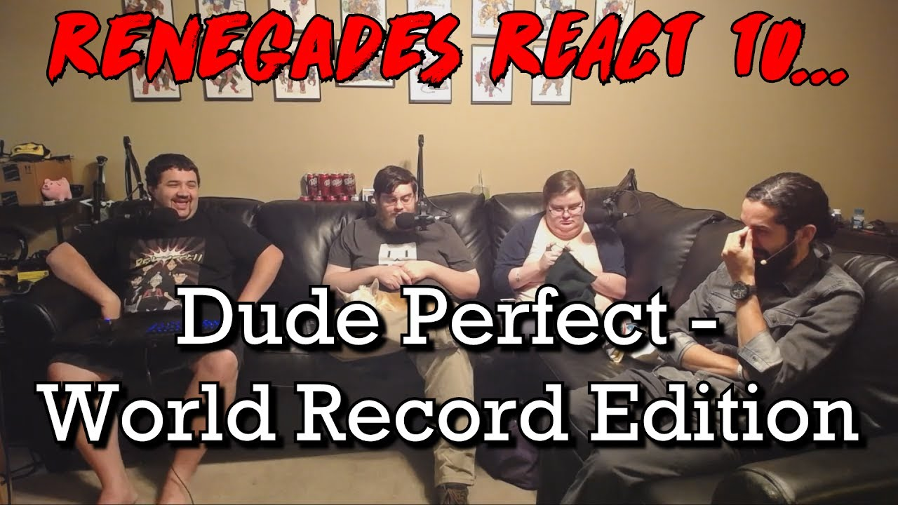 Renegades React to... Dude Perfect - World Record Edition - YouTube
