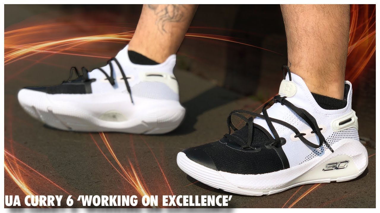 b1d827bd5f1b Under Armour Curry 6  WORKING ON EXCELLENCE  - YouTube