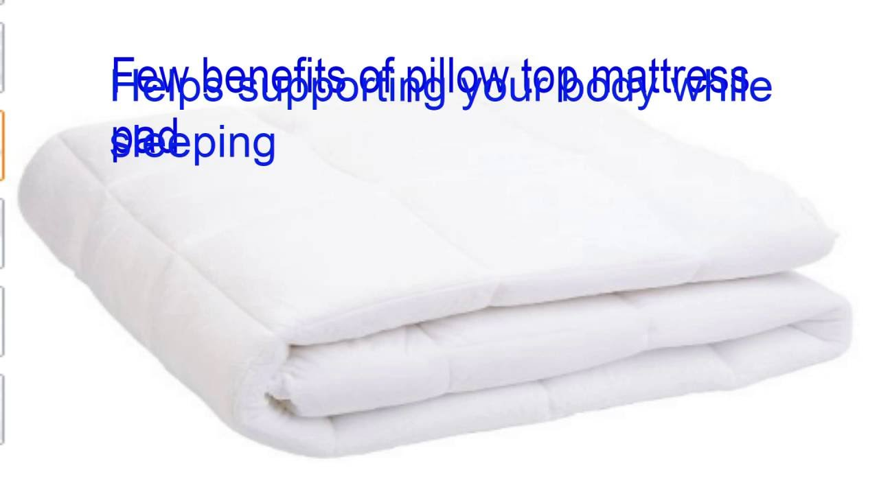 King Size Pillow Top Mattress Pad