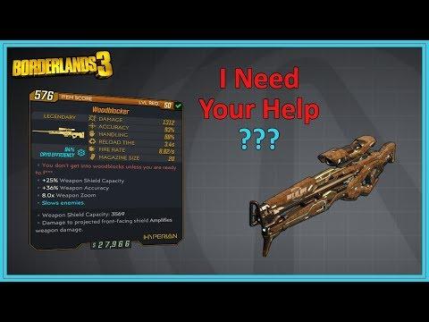Woodblocker Legendary Sniper Rifle | Borderlands 3 | I Have No Idea!!
