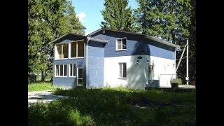 97481 Современный стильный дом в деревне на лесном участке с вековыми деревьями Киевское шоссе ГЦН
