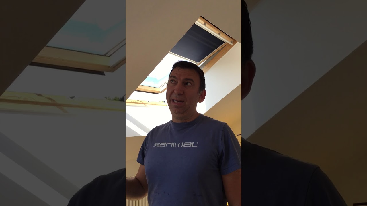 Cleaning TOP HUNG VELUX windows - YouTube
