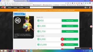 HOW TO GET MILLIONS OF ROBUX ON ROBLOX EASY   OCTOBER NO INSPECT PC IPAD ANDROID