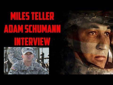 Miles Teller & Adam Schumann Interview - Thank You For Your Service