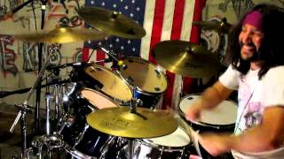 Glen Monturi - Tread Lightly (Mastodon Drum Cover)