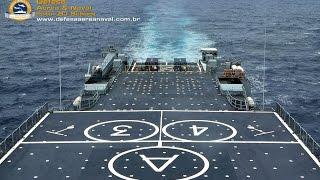 navio doca multipropsito ndm bahia g 40 suspendendo de toulon frana para salvador brasil