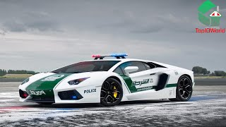10 of Dubai's Most Awesome Police Supercars 2015 Edition
