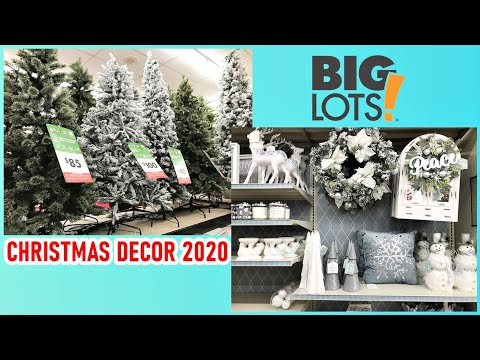 Biglots Deals On Christmas Decorations 2020 BIG LOTS CHRISTMAS DECOR 2020 SHOP WITH ME   YouTube