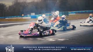 Burrows Eng Round 1 of TKC 2018 Championship