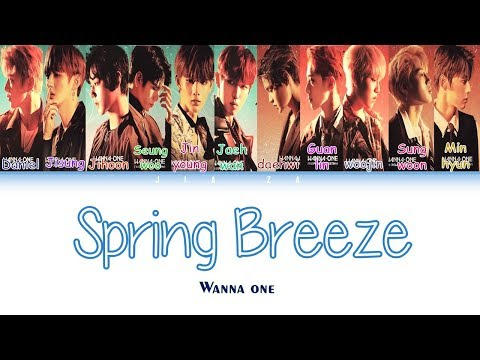 """Wanna One """"SPRING BREEZE"""" (Sub Indo) Lirik {Color Coded-Rom-Ind}"""